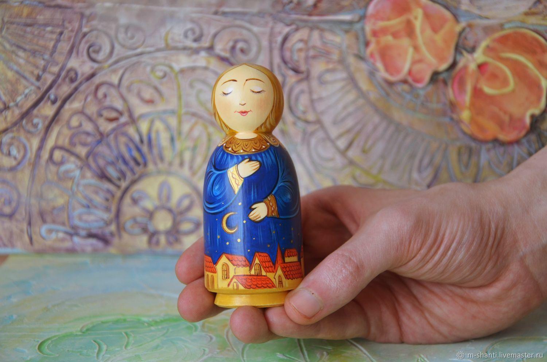 Вальдорфские куклы: Ангелы, фигурка Ангела, ангелочек, Вальдорфские куклы и звери, Липецк,  Фото №1