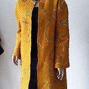 Одежда ручной работы. Ярмарка Мастеров - ручная работа Пальто валяное Осенняя пора. Handmade.