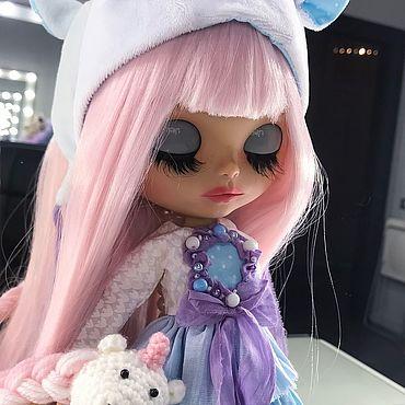 Куклы и игрушки ручной работы. Ярмарка Мастеров - ручная работа Кукла Блайз Blythe -Единорог Мила. Handmade.