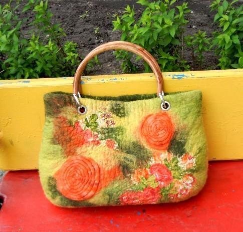 Handbags handmade. Livemaster - handmade. Buy Bag 'Summer mood'.Author bag, summer bag
