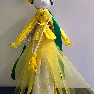 Куклы и игрушки ручной работы. Ярмарка Мастеров - ручная работа Кукла мотанка Удачница 46 см. Handmade.