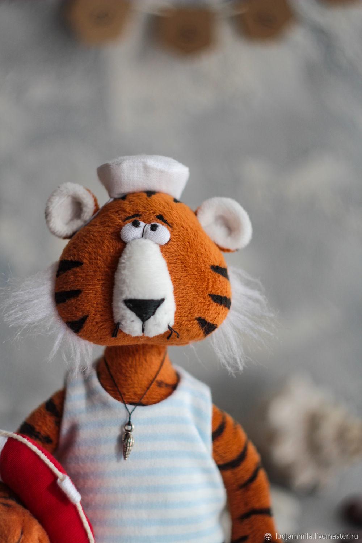 Тигр матрос, Мягкие игрушки, Приморско-Ахтарск,  Фото №1
