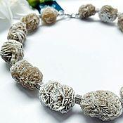 Украшения handmade. Livemaster - original item Necklace made of natural minerals