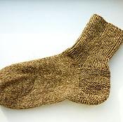 Аксессуары ручной работы. Ярмарка Мастеров - ручная работа носки шерстяные вязанные мужские. Handmade.