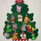 Для дома и интерьера handmade. Livemaster - original item tree out of felt. Handmade.