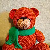 Мягкие игрушки ручной работы. Ярмарка Мастеров - ручная работа Медвежонок. Handmade.