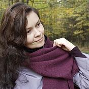 Аксессуары handmade. Livemaster - original item Woven tweed scarf