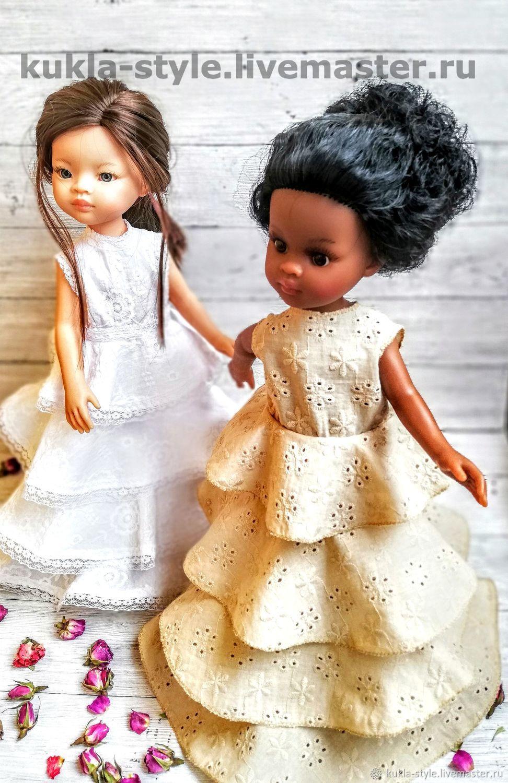 """Выкройка """"Платье с воланами"""" для Паолы Рейна 32 см, Выкройки для кукол и игрушек, Смоленск,  Фото №1"""