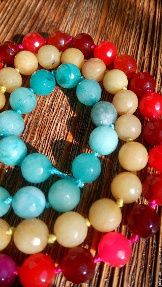 Для украшений ручной работы. Ярмарка Мастеров - ручная работа. Купить Агат бусины граненый шар 10 мм. Handmade.
