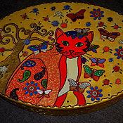 """Для дома и интерьера ручной работы. Ярмарка Мастеров - ручная работа Шкатулка """"Рыжее настроение"""". Handmade."""
