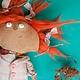 """Ароматизированные куклы ручной работы. Заказать """"Морковка"""" интерьерная кукла. Алёна Раздорова (Razdorka). Ярмарка Мастеров. Рыжик, авторская кула"""