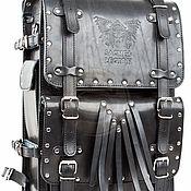 Сумки и аксессуары handmade. Livemaster - original item Mens leather backpack