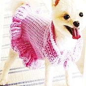 Для домашних животных, handmade. Livemaster - original item Knitted clothes for the animals (dogs or cats). Handmade.