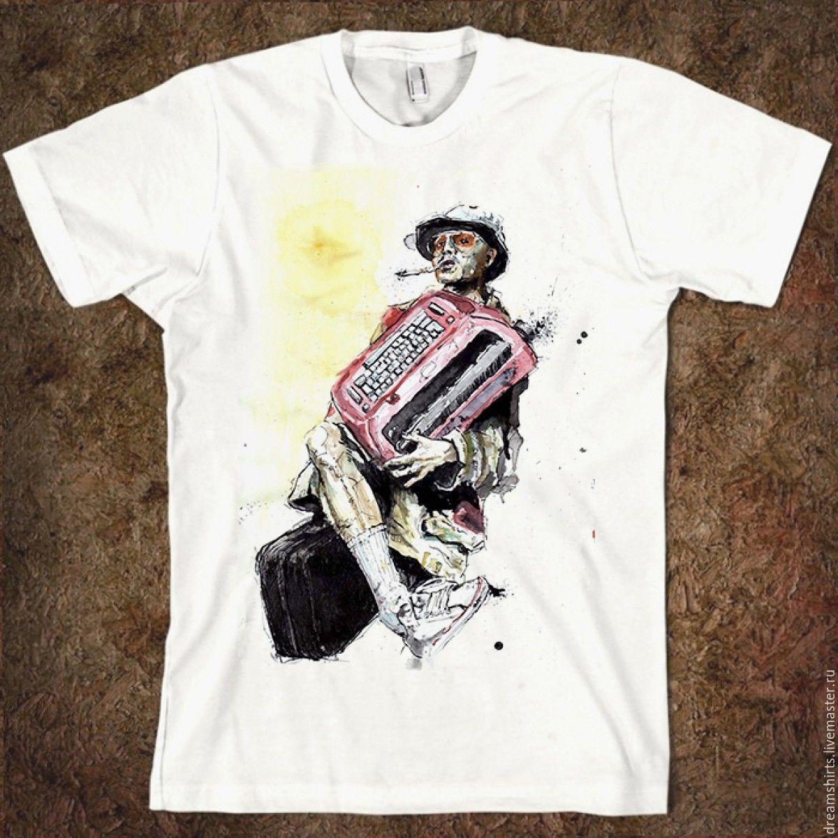 """Футболка с принтом """"Страх и Ненависть в Лас-Вегасе"""", T-shirts, Moscow,  Фото №1"""