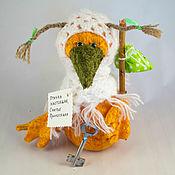 Куклы и игрушки ручной работы. Ярмарка Мастеров - ручная работа Птичка настоящая... счастье приносящая.... Handmade.