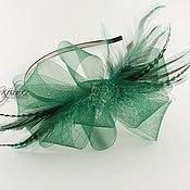 """Шляпы ручной работы. Ярмарка Мастеров - ручная работа Вечерняя шляпка-вуалетка """"Вея"""". Handmade."""