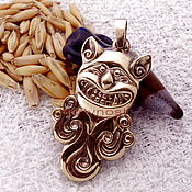 Фен-шуй и эзотерика handmade. Livemaster - original item Scythian cat amulet talisman amulet made of metal. Handmade.