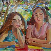 Картины и панно handmade. Livemaster - original item Picture. Youth of Abkhazia. Handmade.