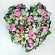 Подарки для влюбленных ручной работы. Ярмарка Мастеров - ручная работа. Купить Сердце из конфет, букет из конфет свадебный.. Handmade. Розовый