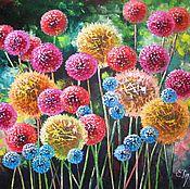"""""""Прекрасный look """" картина маслом на холсте, картины цветов, цветков"""