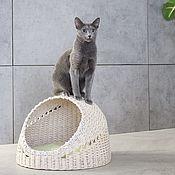 handmade. Livemaster - original item Cat house. Cocodomol. House for cat. Sphere. Handmade.