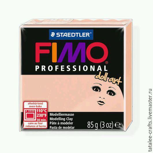 Куклы и игрушки ручной работы. Ярмарка Мастеров - ручная работа. Купить 8027-432 - Розовый полупрозрачный - Fimo Professional Doll Art. Handmade.