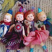 Куклы и игрушки ручной работы. Ярмарка Мастеров - ручная работа Коллекционные куколки Малыши. Handmade.