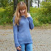 Одежда ручной работы. Ярмарка Мастеров - ручная работа Пуловер из беби альпаки. Handmade.