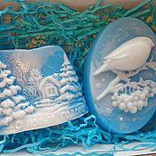Косметика ручной работы. Ярмарка Мастеров - ручная работа Новогодний набор мыла. Подарочные наборы на новый год. Handmade.