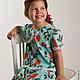 """Одежда для девочек, ручной работы. Платье для девочки из американского хлопка """"Нина"""". Лариса Тальдрик (MariAnnA-style). Интернет-магазин Ярмарка Мастеров."""