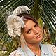 """Заказать Свадебная шляпка """"Jassi"""". ZHAKI HATS. Ярмарка Мастеров. . Шляпы Фото №3"""