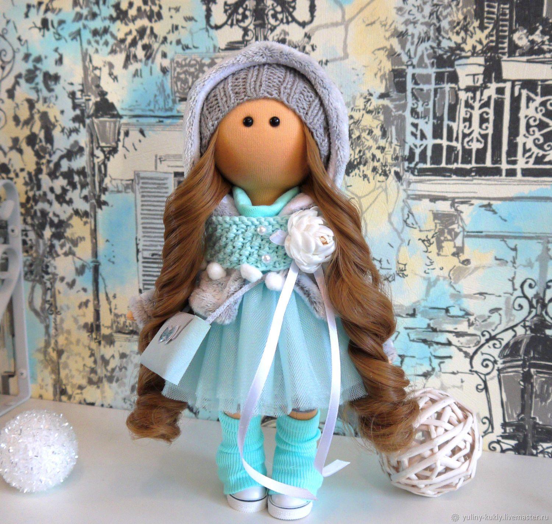 Текстильная куколка-малышка Лолочка, Большеножка, Санкт-Петербург,  Фото №1