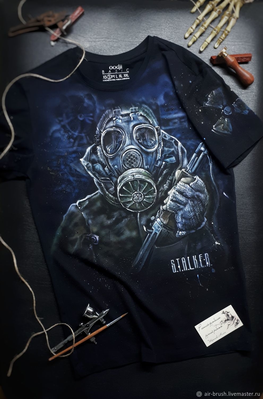"Футболка с рисунком ""S.T.A.L.K.E.R, T-shirts, Nizhny Novgorod,  Фото №1"