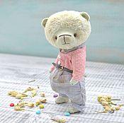 Куклы и игрушки ручной работы. Ярмарка Мастеров - ручная работа Мишка тедди Ёся. Handmade.
