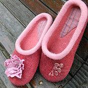 Обувь ручной работы. Ярмарка Мастеров - ручная работа Розовый Пион. Handmade.