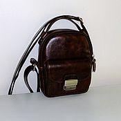 Сумки и аксессуары handmade. Livemaster - original item Bag leather mens 777. Handmade.