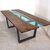 "Большой стол "" река"""