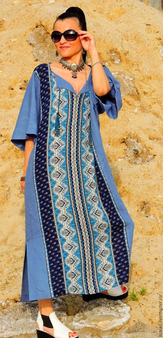 платье бохо, стиль бохо, бохо стиль, прямое платье, платье из льна, льняное платье, платье свободное, платье летнее, натуральный лен