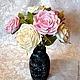 Цветы ручной работы. Заказать Розы из фоамирана. Марина Журавлева. Ярмарка Мастеров. Пион, фоамиран, флористическая проволока