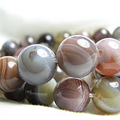 Материалы для творчества handmade. Livemaster - original item Agate, smooth ball 12mm. Handmade.