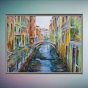 Картины и панно ручной работы. Ярмарка Мастеров - ручная работа Утро в Венеции. Handmade.