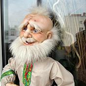 Куклы и игрушки handmade. Livemaster - original item Doll Grandfather Domovoy. Handmade.