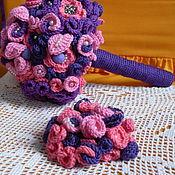 Свадебный салон ручной работы. Ярмарка Мастеров - ручная работа Букет невесты, бутоньерка. Handmade.