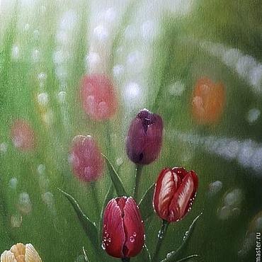 Картины и панно ручной работы. Ярмарка Мастеров - ручная работа После дождя. (Владимир Тарасов). Handmade.