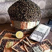 """Для дома и интерьера ручной работы. Ярмарка Мастеров - ручная работа Чайный комплект """"Сафари"""". Handmade."""