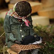 Куклы и игрушки handmade. Livemaster - original item Baba Manya. Handmade.