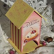 """Для дома и интерьера ручной работы. Ярмарка Мастеров - ручная работа Чайный домик """"Cherry"""". Handmade."""
