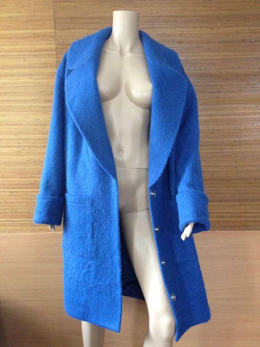 Верхняя одежда ручной работы. Ярмарка Мастеров - ручная работа. Купить Мохнатое пальто. Handmade. Пальто, Пальто ручной работы