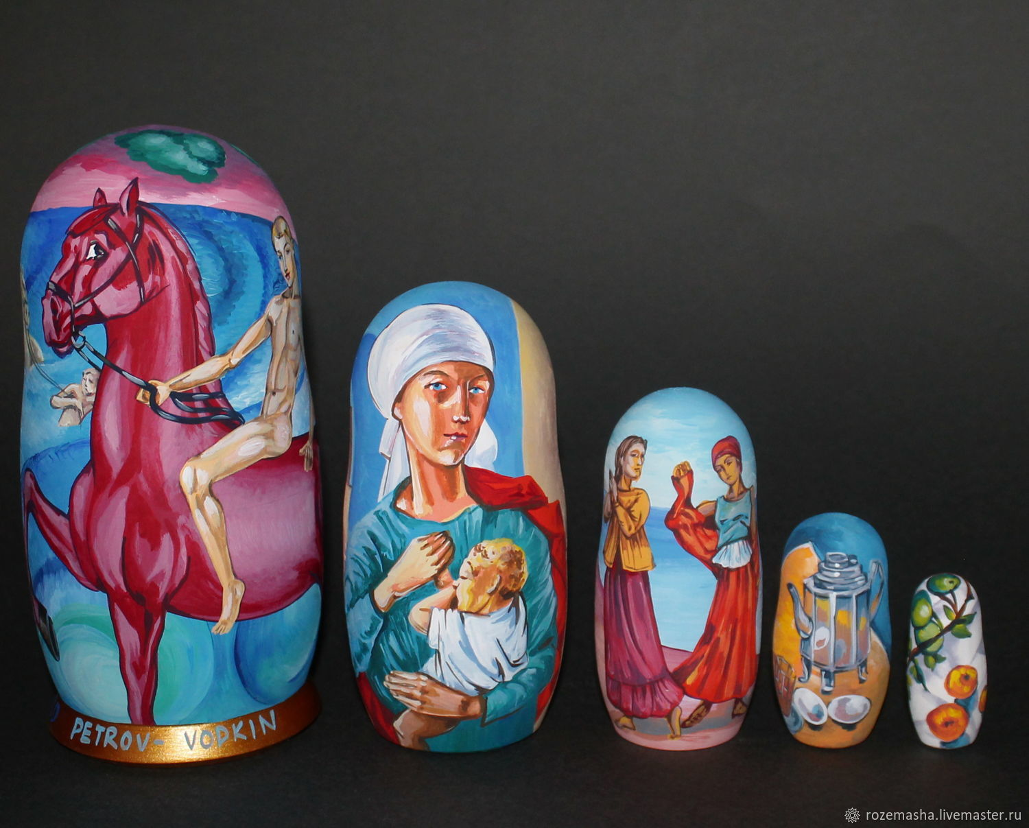 Matryoshka Petrov-Vodkin and Russian avant-garde, Dolls1, St. Petersburg,  Фото №1