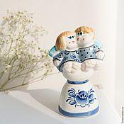 Сувениры и подарки handmade. Livemaster - original item Angels Bell Porcelain. Handmade.